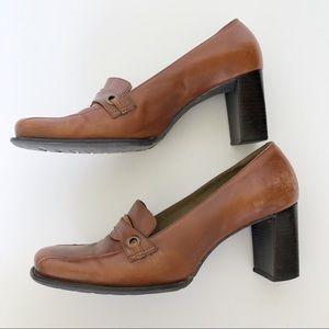 Naturalizer Brown Heels